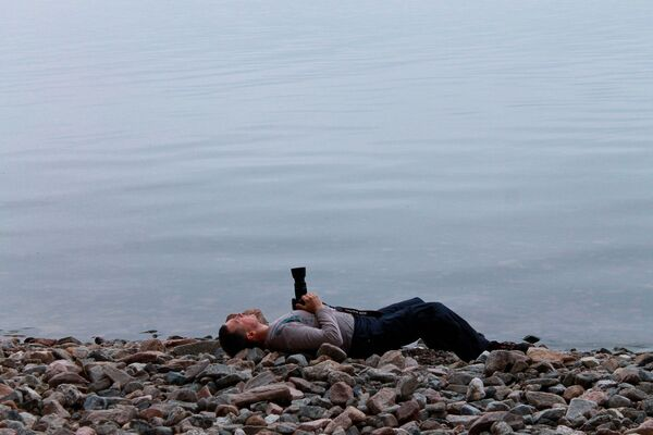 Všechny tváře vody: 15 minimalistických záběrů Bajkalu uchvatí každého  - Sputnik Česká republika