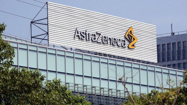 Logo firmy AstraZeneca - Sputnik Česká republika