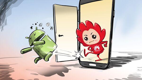Uvolni cestu, Androide, na trhu je nový operační systém od Huawei - Sputnik Česká republika