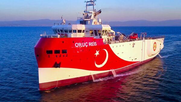 Loď Oruç Reis - Sputnik Česká republika