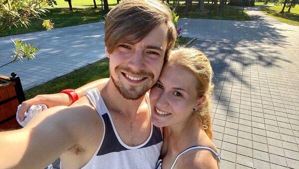 Dominik Vodička s manželkou Eliškou - Sputnik Česká republika
