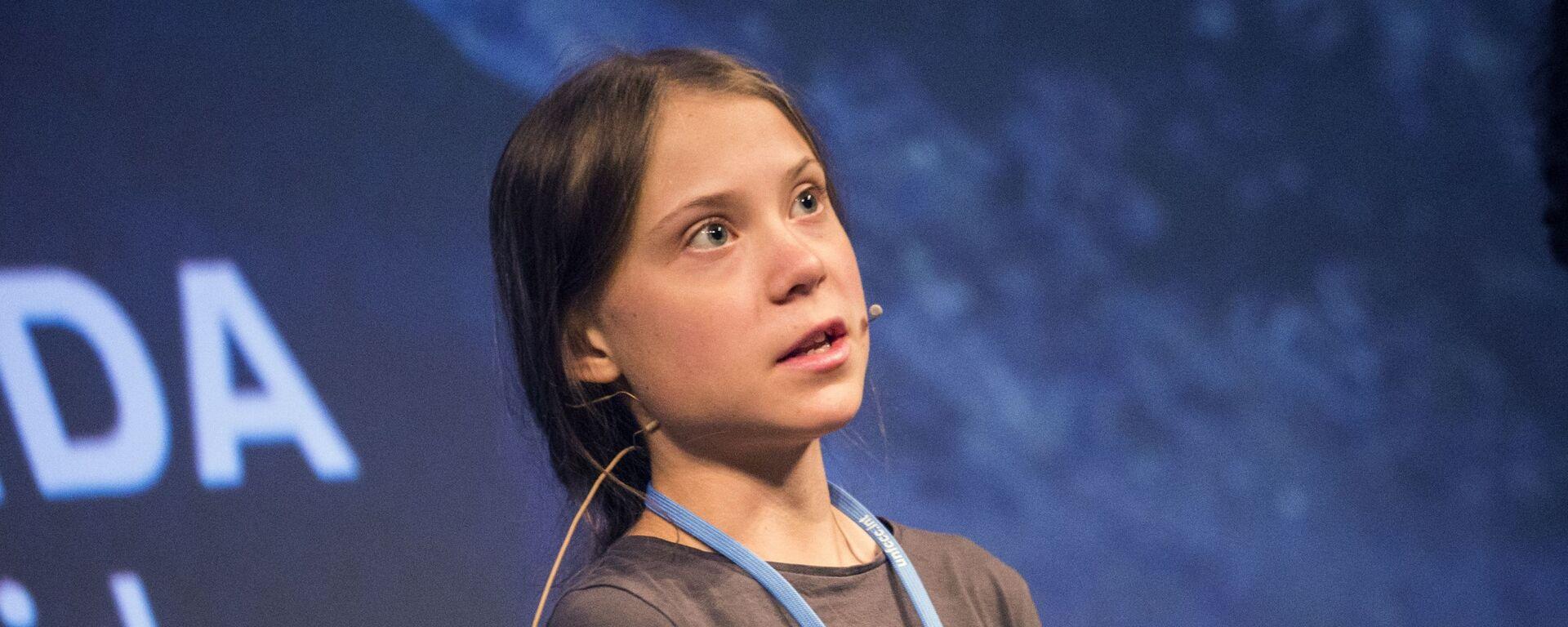 Greta Thunbergová - Sputnik Česká republika, 1920, 25.03.2021