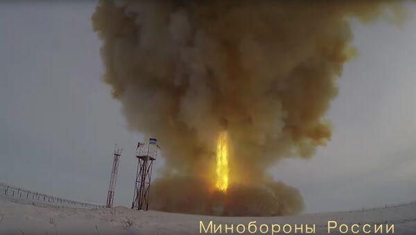 Start ruské hypersonické rakety Avangard - Sputnik Česká republika