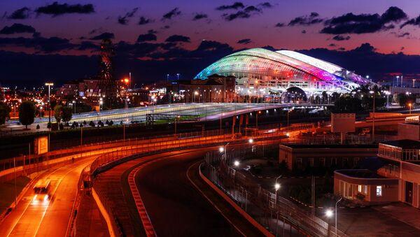 Okruh Formule 1 a stadion Fišt v Olympijském parku v Soči - Sputnik Česká republika