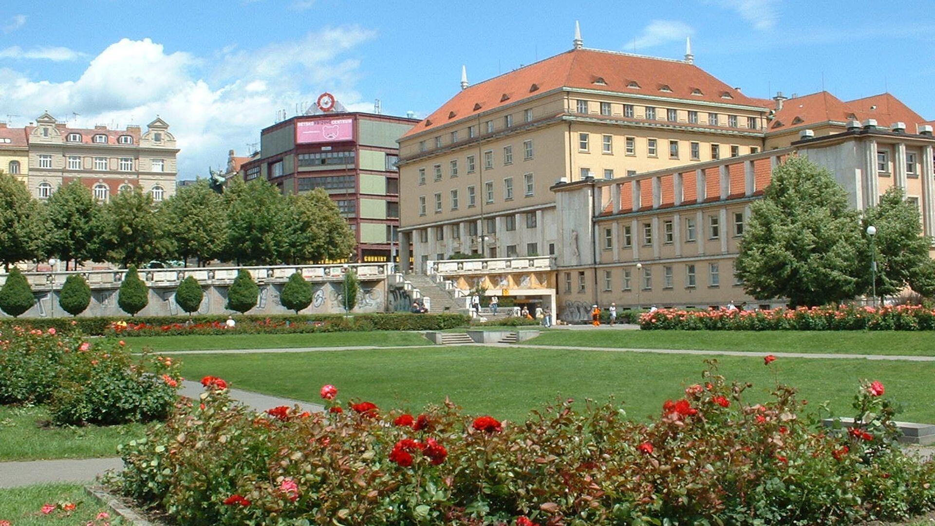 Budova Ministerstva zdravotnictví Česka - Sputnik Česká republika, 1920, 13.04.2021