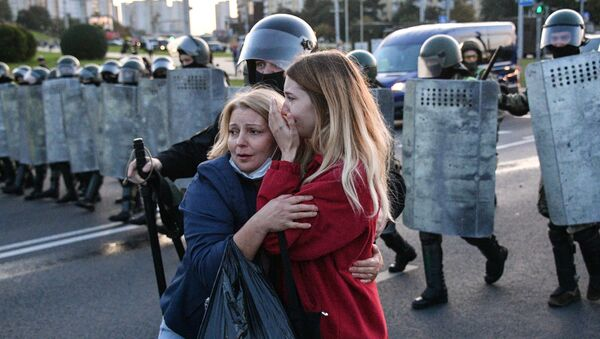 Co se děje v Bělorusku po inauguraci Lukašenka? Záběry současných protestů v Minsku - Sputnik Česká republika