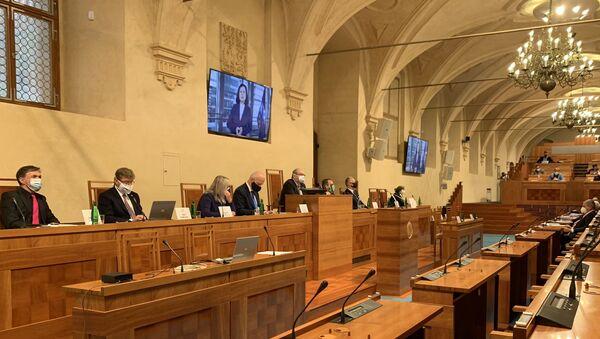 Michal Koudelka v Senátu - Sputnik Česká republika