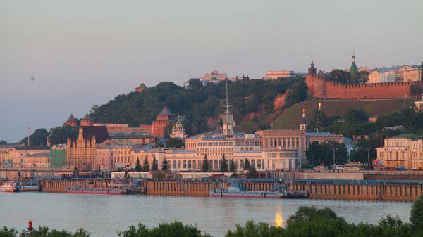 Říční nádraží a nižněnovgorodský Kreml - Sputnik Česká republika