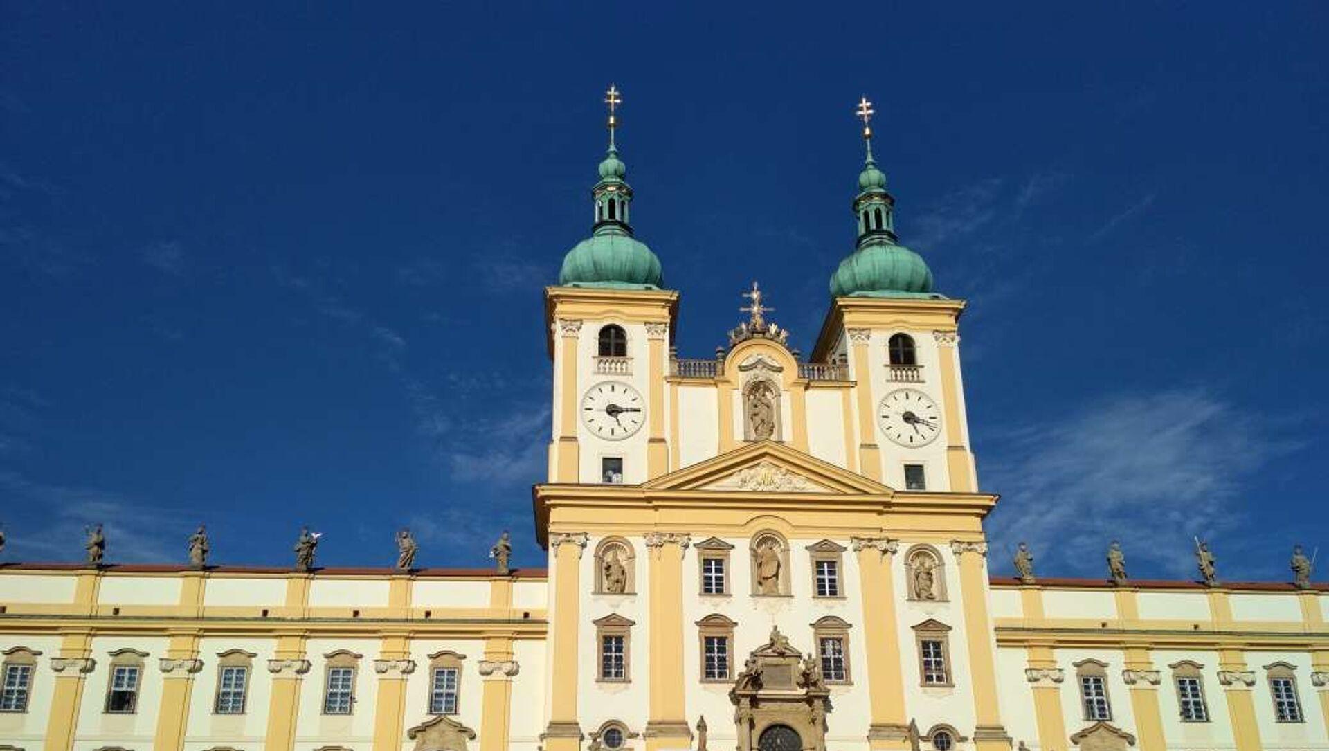 Bazilika Navštívení Panny Marie na Svatém Kopečku u Olomouce - Sputnik Česká republika, 1920, 05.04.2021