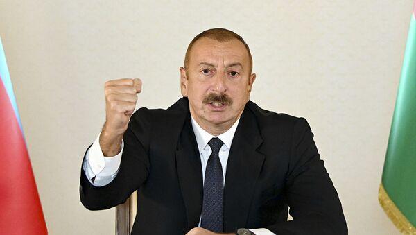 Ázerbájdžánský prezident Ilham Alijev - Sputnik Česká republika