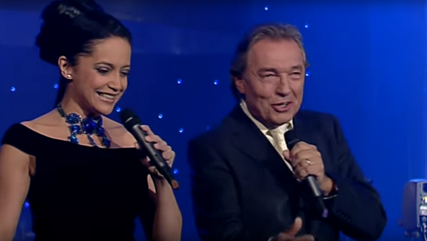 Lucie Bílá a Karel Gott - Sputnik Česká republika