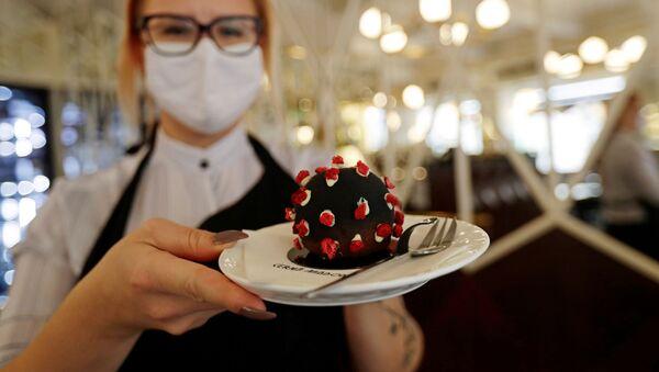 """Jeden """"virus"""", prosím! V Česku během pandemie vymysleli originální dezert - Sputnik Česká republika"""