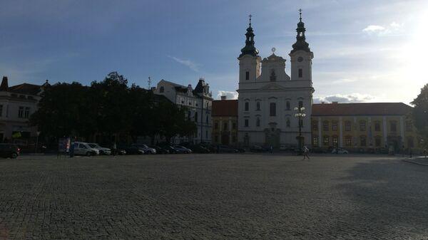 Náměstí v Uherském Hradišti. Ilustrační foto - Sputnik Česká republika