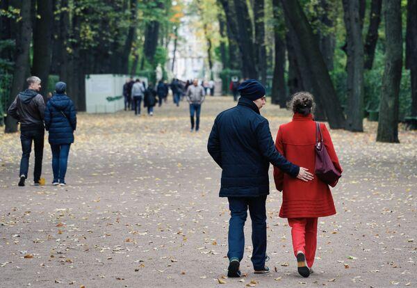 Podzimní barvy petrohradské Letní zahrady. - Sputnik Česká republika