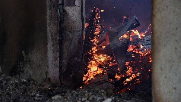 Zničený dům v Náhorním Karabachu - Sputnik Česká republika