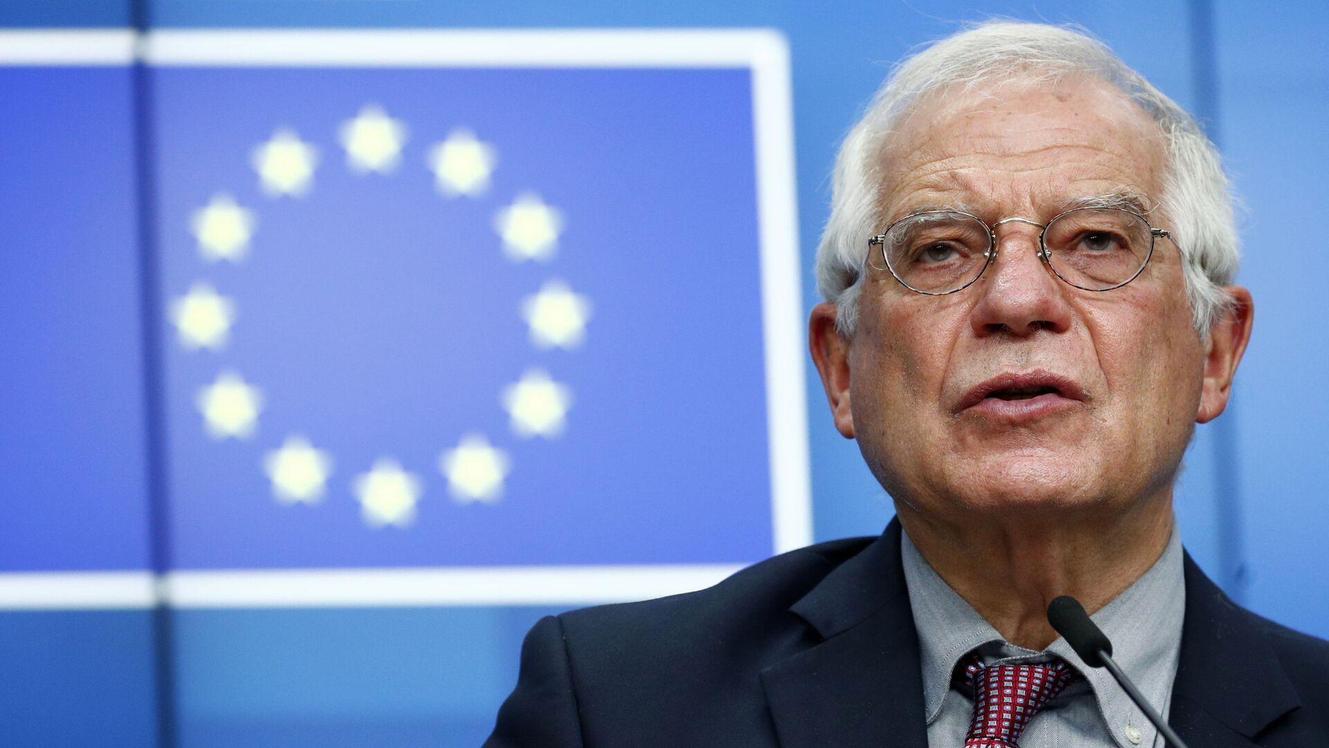 Vysoký představitel Unie pro zahraniční věci a bezpečnostní politiku Josep Borrell - Sputnik Česká republika, 1920, 01.09.2021