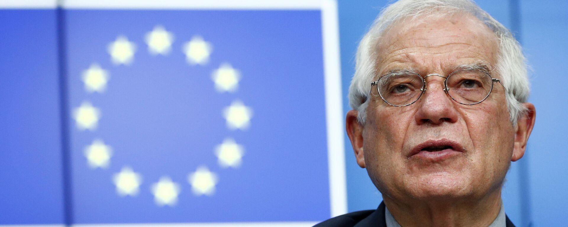 Vysoký představitel Unie pro zahraniční věci a bezpečnostní politiku Josep Borrell - Sputnik Česká republika, 1920, 09.02.2021