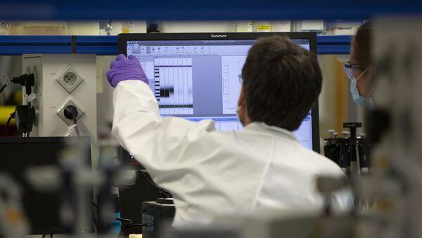Laboratoř společnosti Johnson & Johnson v Belgii - Sputnik Česká republika