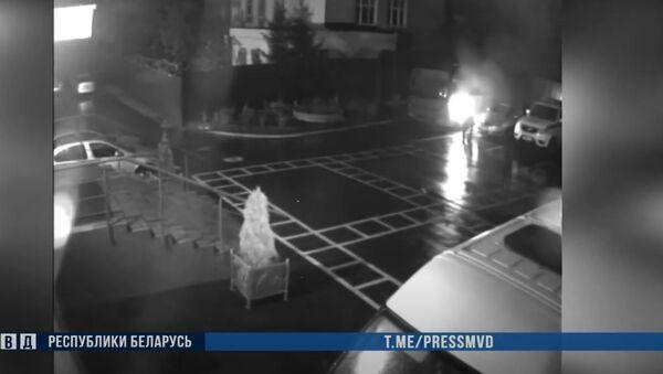 Útok na oddělení policie v Minsku - Sputnik Česká republika
