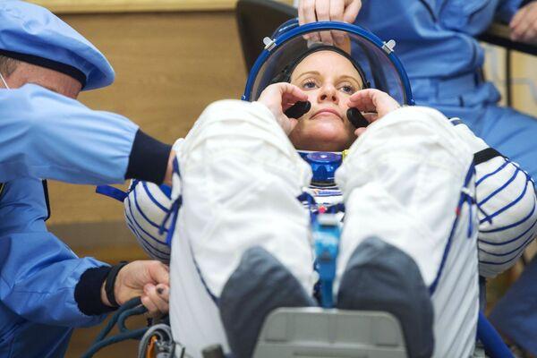 Členka hlavní posádky 64. expedice na ISS, astronautka NASA Kathleen Rubins. - Sputnik Česká republika