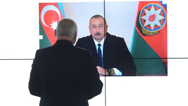 Dmitrij Kiseljov získal rozhovor s ázerbájdžánským lídrem - Sputnik Česká republika