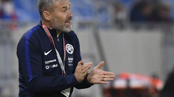 Bývalý trenér slovenské fotbalové reprezentace Pavel Hapal - Sputnik Česká republika