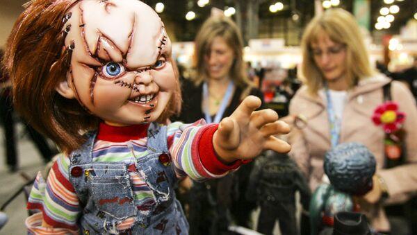Panenka Chucky na Americkém mezinárodním trhu hraček (12. 02. 2006) - Sputnik Česká republika