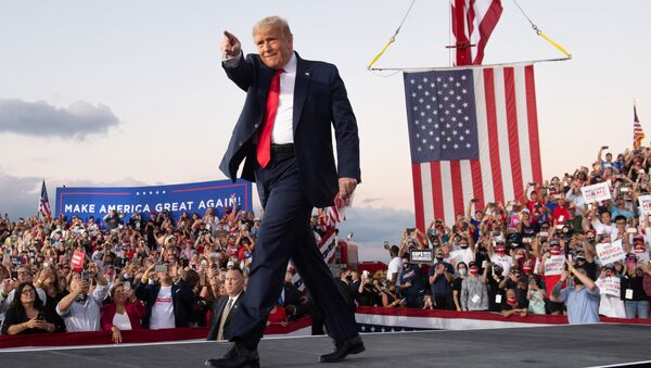 Americký prezident Donald Trump - Sputnik Česká republika