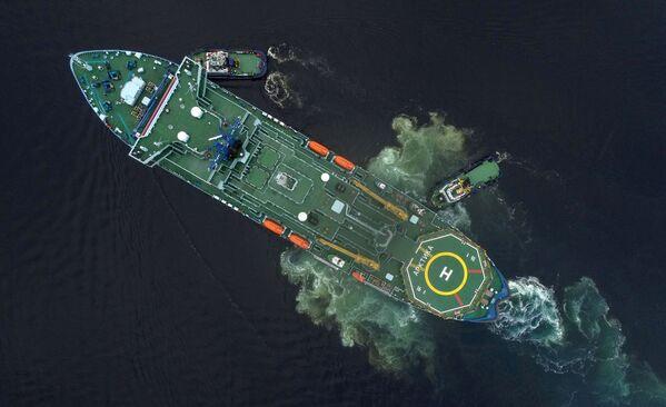 Ruský jaderný ledoborec Arktika v Murmansku - Sputnik Česká republika