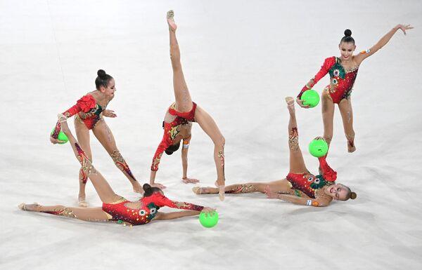 Ruský pohár v moderní gymnastice - Sputnik Česká republika