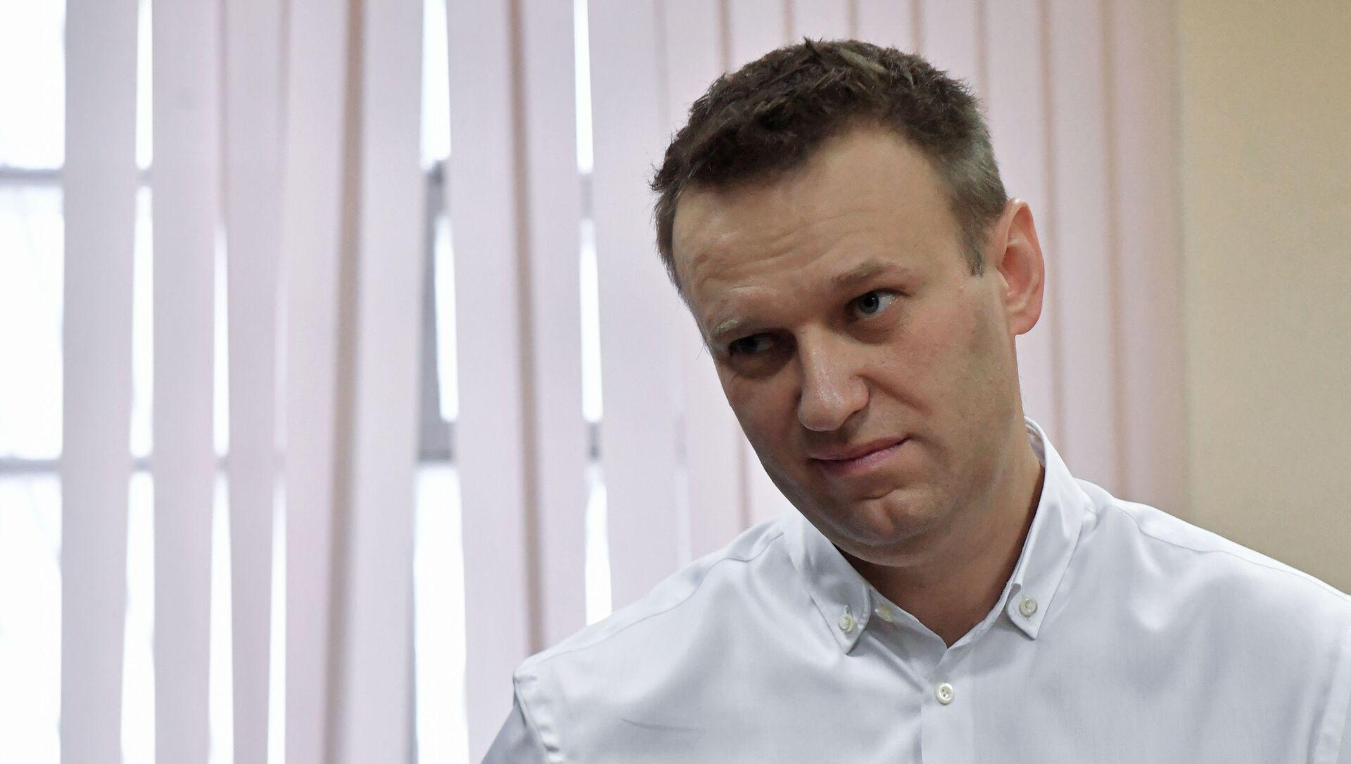 Ruský opoziční aktivista Alexej Navalnyj - Sputnik Česká republika, 1920, 02.02.2021