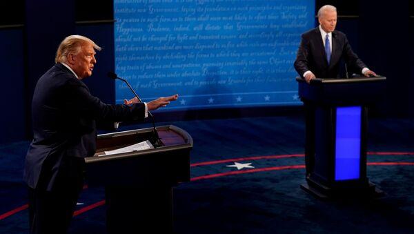 Poslední debaty Donalda Trumpa a Joe Bidena před prezidentskými volbami v USA - Sputnik Česká republika