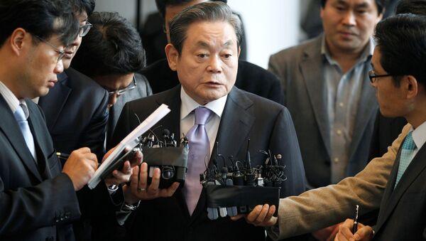 Předseda Samsungu Lee Kun-hee - Sputnik Česká republika