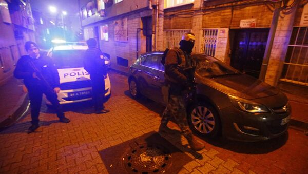 Turečtí policisté v Istanbulu. Ilustrační foto - Sputnik Česká republika
