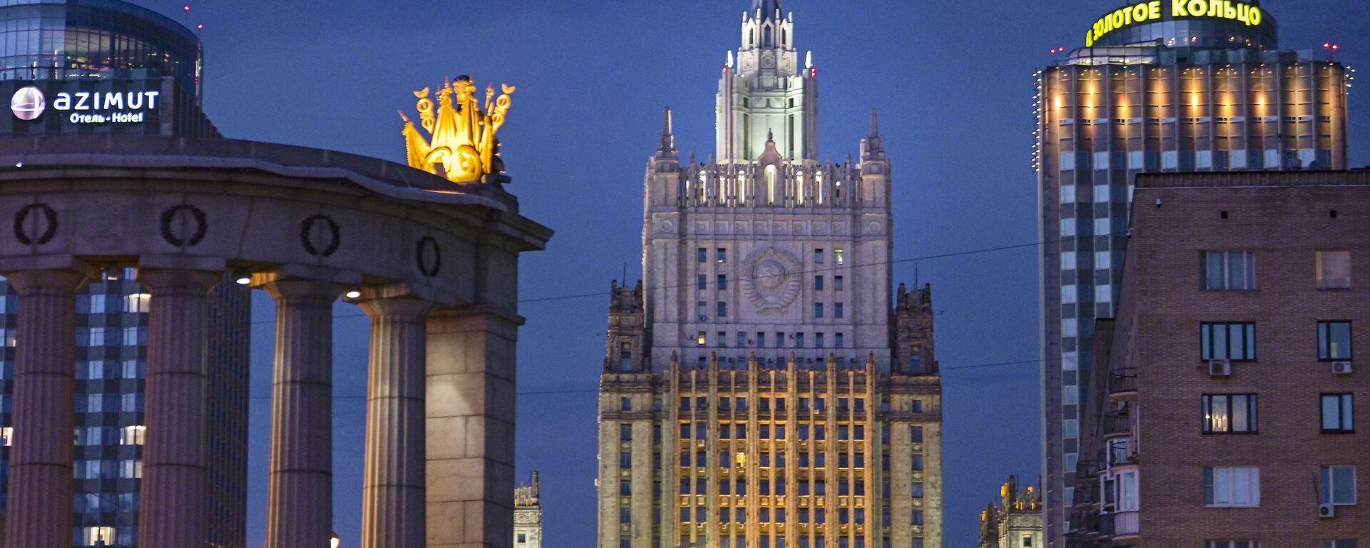 Ruské ministerstvo zahraničí  - Sputnik Česká republika, 1920, 24.02.2021