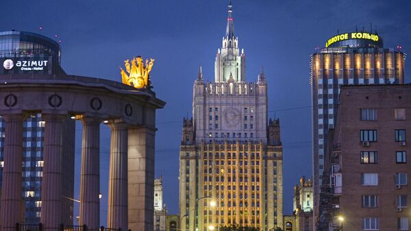 Ruské ministerstvo zahraničí  - Sputnik Česká republika
