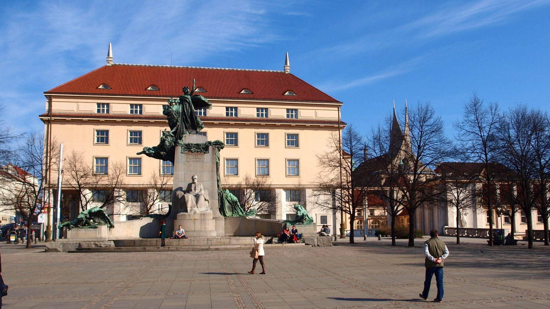 Ministerstvo zdravotnictví v Praze - Sputnik Česká republika, 1920, 03.02.2021