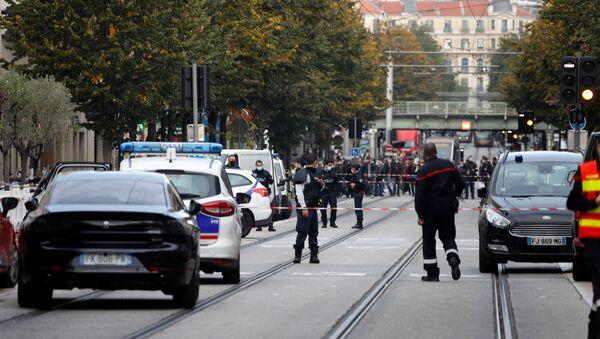 Nice po teroristickém útoku   - Sputnik Česká republika