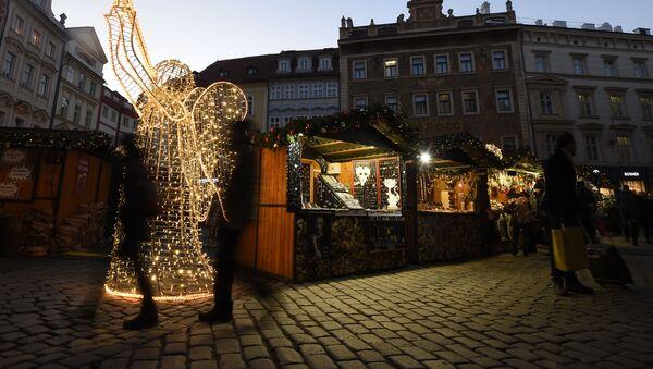 Vánoční trh v centru Prahy - Sputnik Česká republika