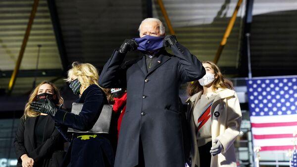 Americký prezidentský kandidát Joe Biden - Sputnik Česká republika