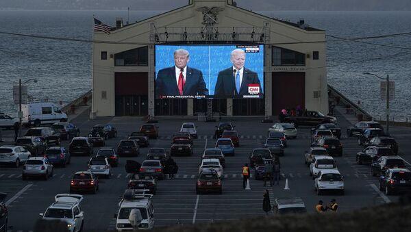 Donald Trump a Joe Biden - Sputnik Česká republika