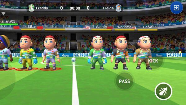 Nový fotbalový simulátor Football For Friendship World - Sputnik Česká republika