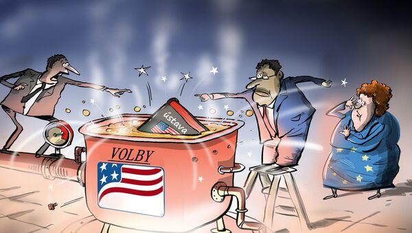 USA čelí velmi výbušné situaci - Sputnik Česká republika