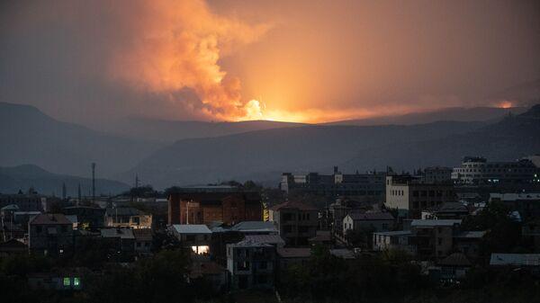 Výbuch poblíž Stěpanakertu - Sputnik Česká republika