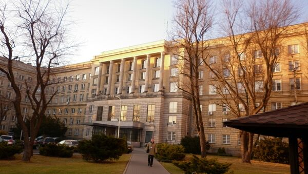 Budova polské kontrarozvědky - Sputnik Česká republika
