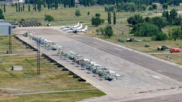 Vojenské letiště Baltimor ve Voroněži - Sputnik Česká republika