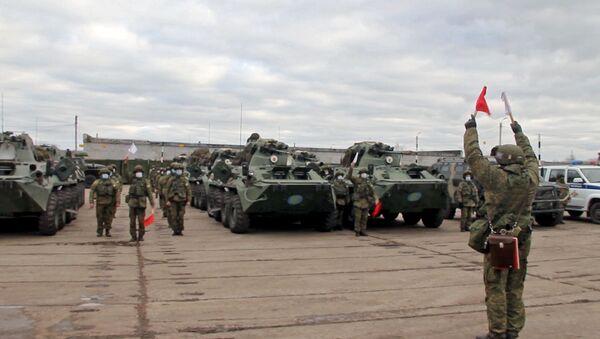 Vyslání mírotvůrců do Náhorního Karabachu - Sputnik Česká republika