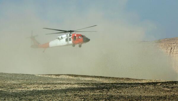 Vrtulník na Sinaji - Sputnik Česká republika