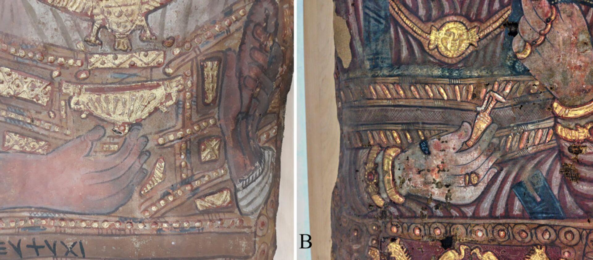 Mumie nalezené v roce 1615 v Sakkáře. - Sputnik Česká republika, 1920, 19.01.2021