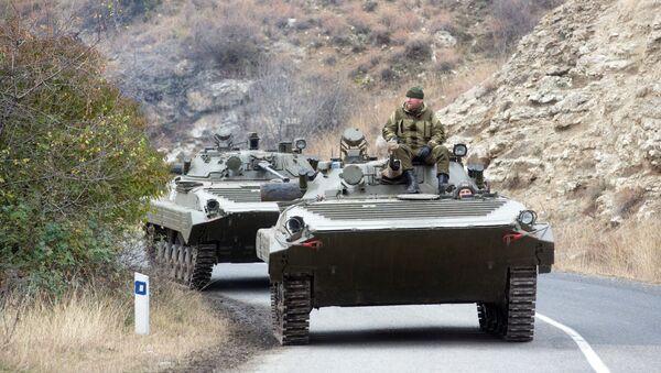 Ruští mírotvůrci v Náhorním Karabachu. Ilustrační foto. - Sputnik Česká republika
